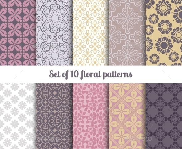 Pastel Patterns  - Decorative Vectors