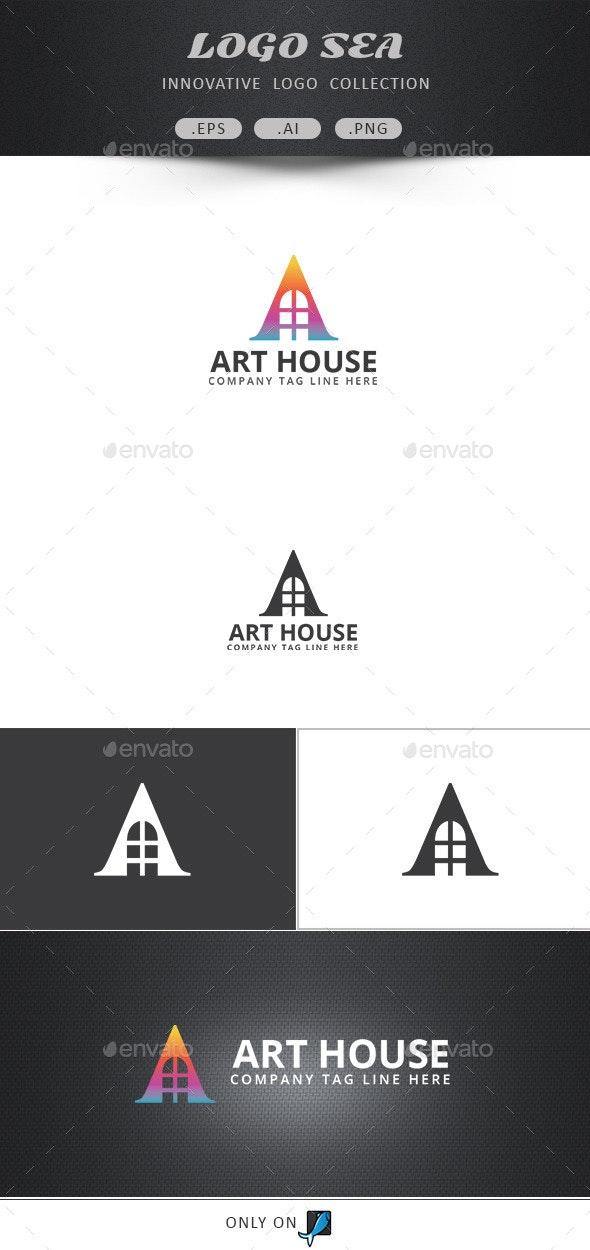 Art House Logo - Letters Logo Templates