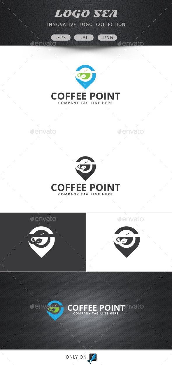 Coffee Point Logo - Food Logo Templates