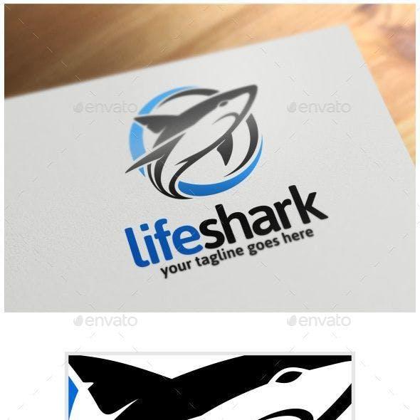 LIfe Shark Logo Template