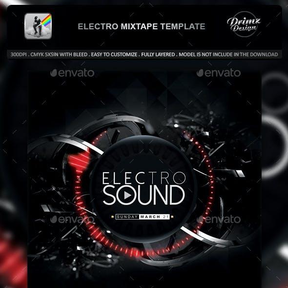 Electro Mixtape Template