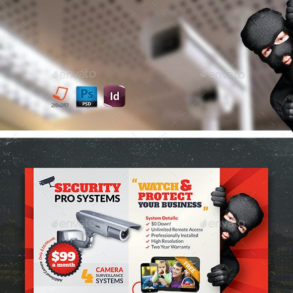 Security Systems Flyer Bundle Templates
