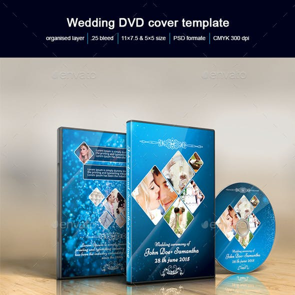 Wedding DVD Cover.