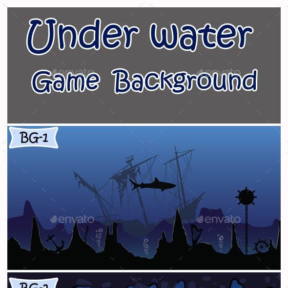Under Water Game Background