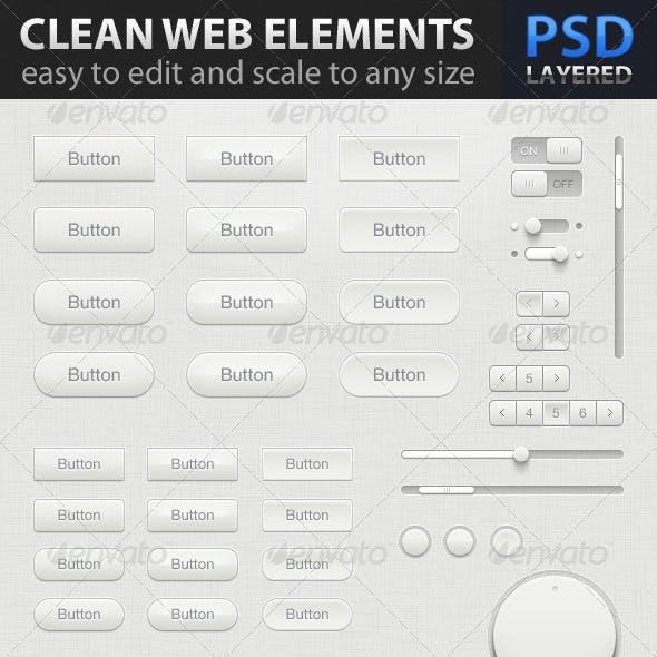 Clean Web Elements