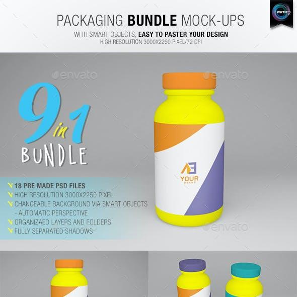 Packaging Bundle Mock-Ups