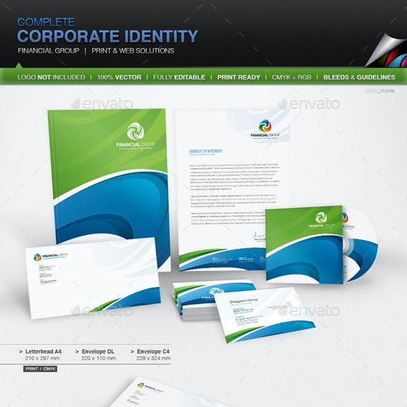 Corporate Identity - Financial Group