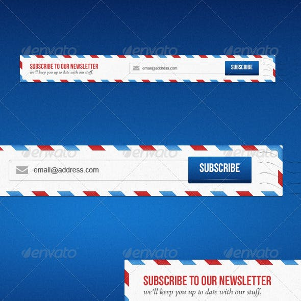 Newsletter Subscription Form