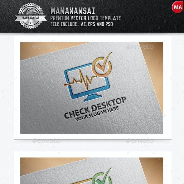 Check Desktop Logo