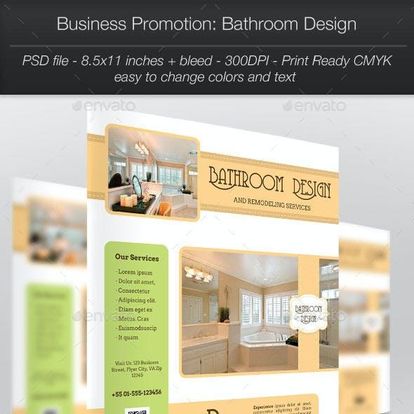 Business Promotion: Bathroom Design