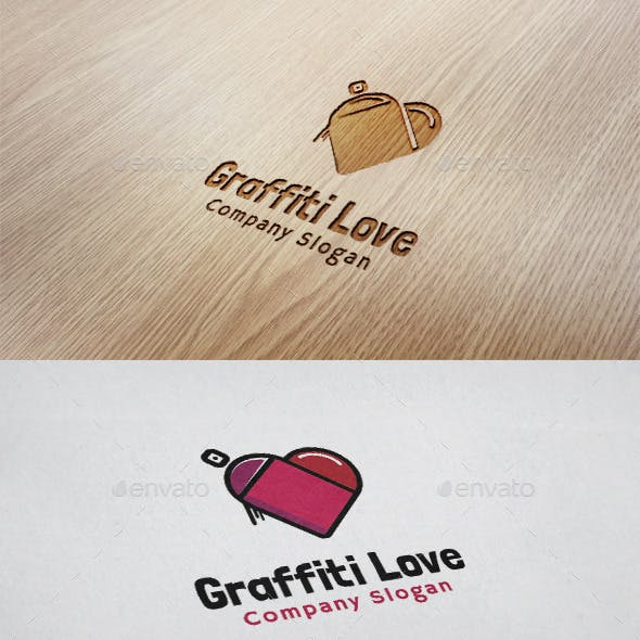 Graffiti Love Logo