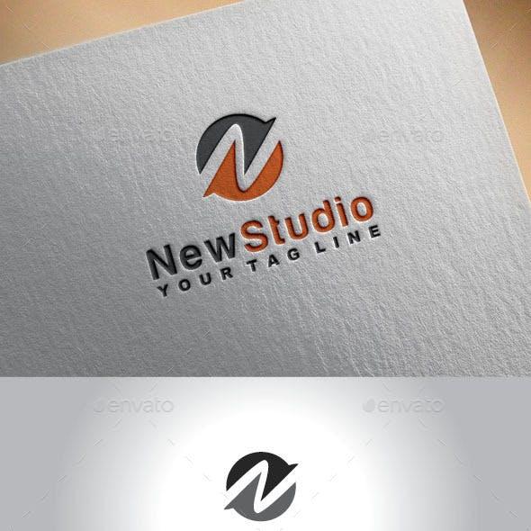 Letter (N) Logo