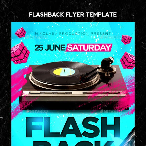 Flash Back Flyer