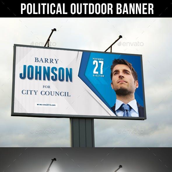 Political Outdoor Banner V2