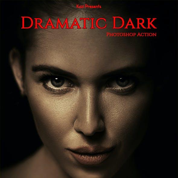 Dramatic Dark Action