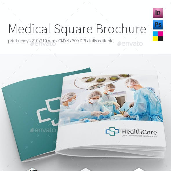 Medical Square Brochure 210x210mm