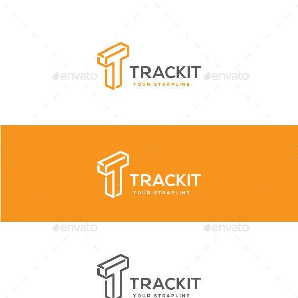 Trackit Letter T Logo