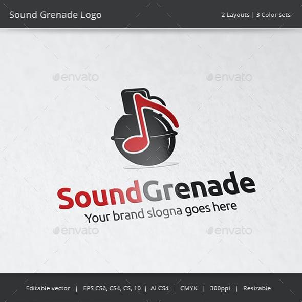 Sound Grenade Music Logo