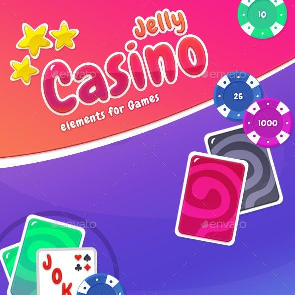 Cartoon Casino Card Games Kit