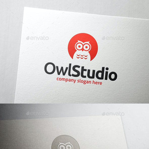 Owl Bird Studio Logo