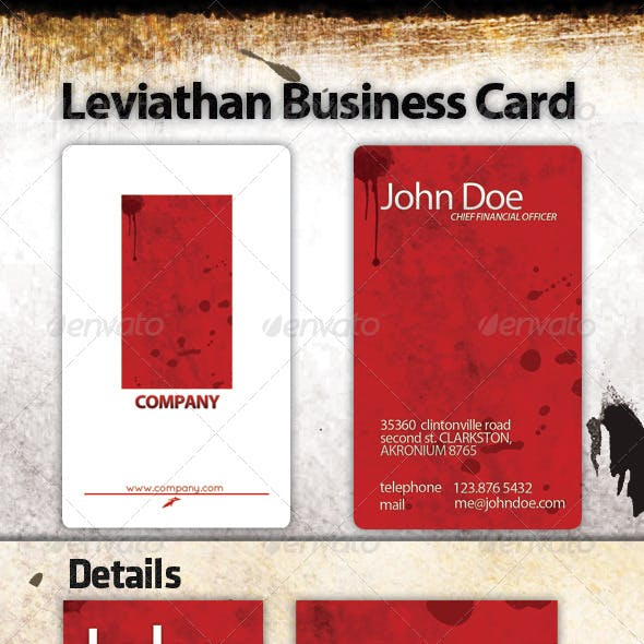 Leviathan Business Card