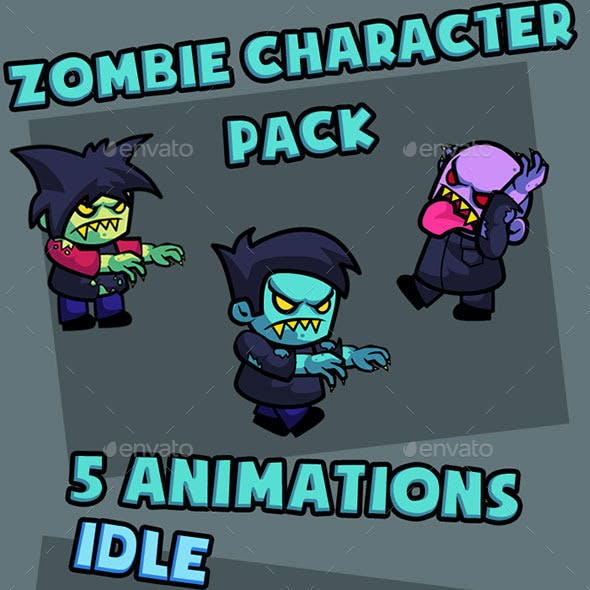 Animated Zombie Character Pack