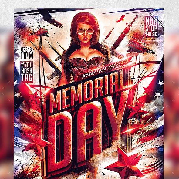 Flyer Memorial Day Konnekt