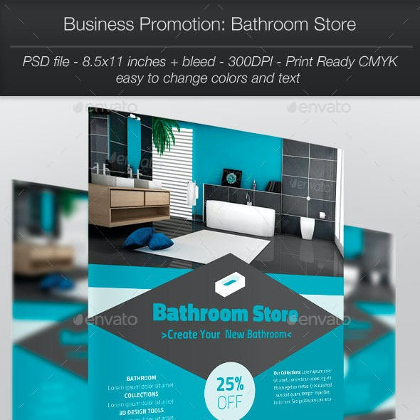 Business Promotion: Bathroom Store