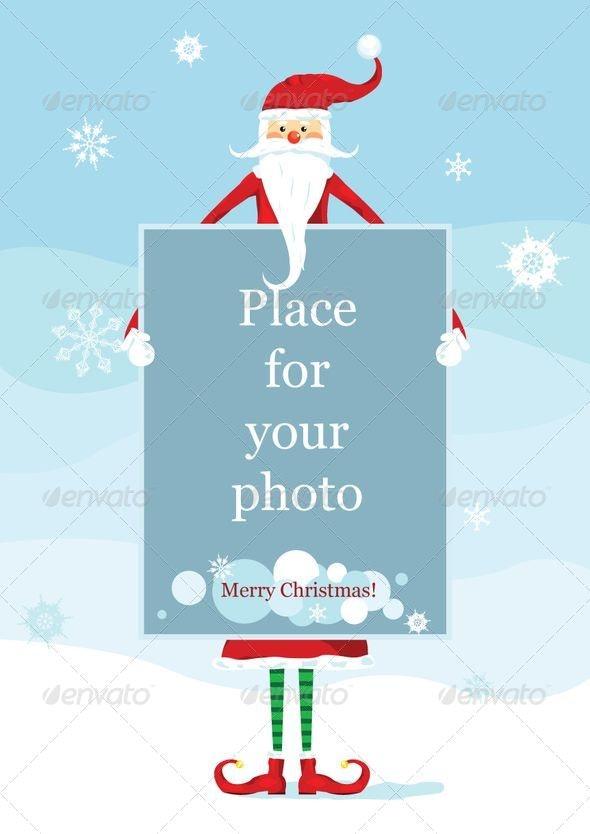 Santa Christmas Card - Christmas Seasons/Holidays