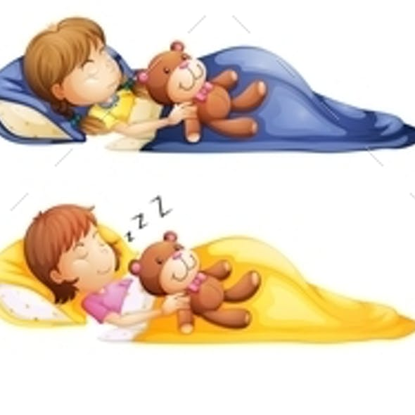 Kids Sleeping Soundly