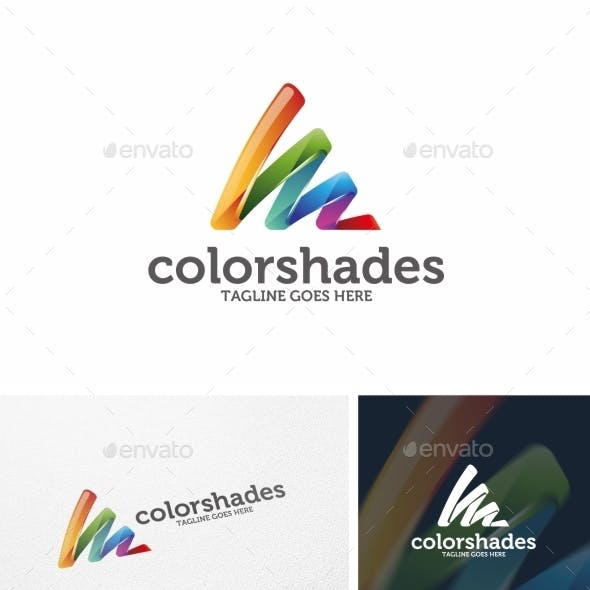 Color Shades - Logo Template