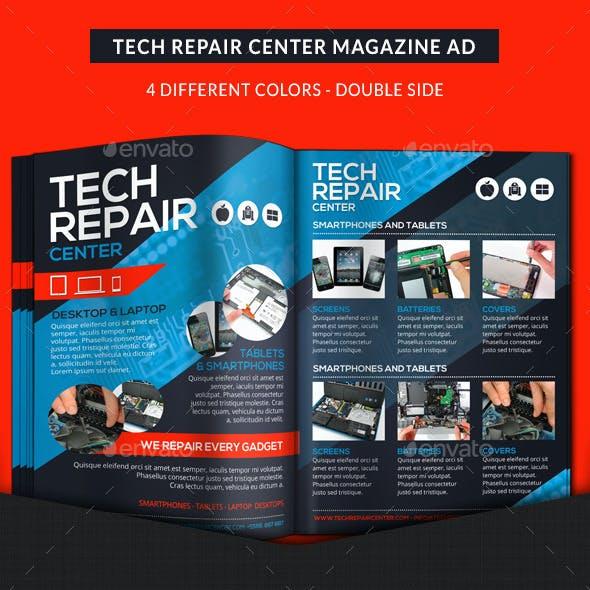 Tech Repair Center Magazine Ad