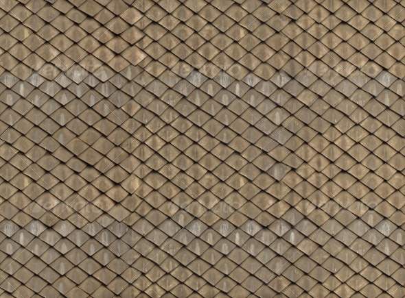 Ancient tiled roof - Miscellaneous Textures