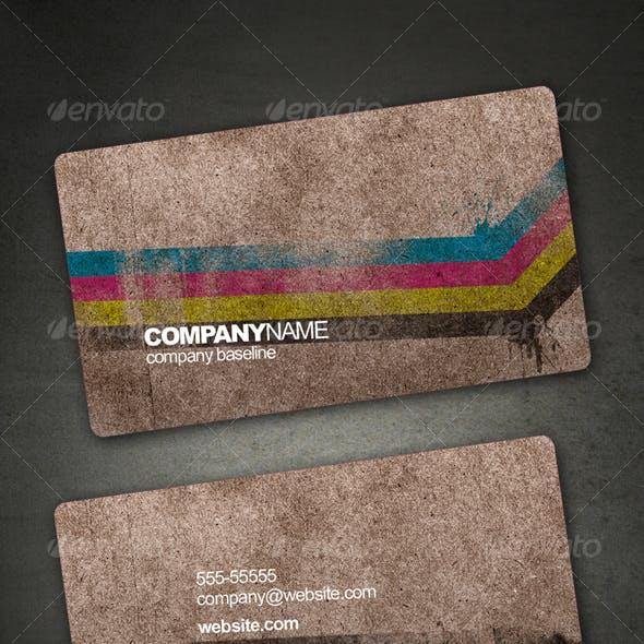 Brown Paper Card