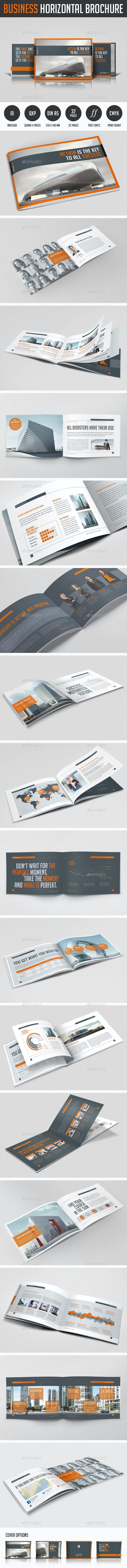 Business Horizontal Brochure - Corporate Brochures