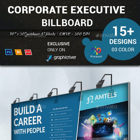 Corporate Executive Billboard