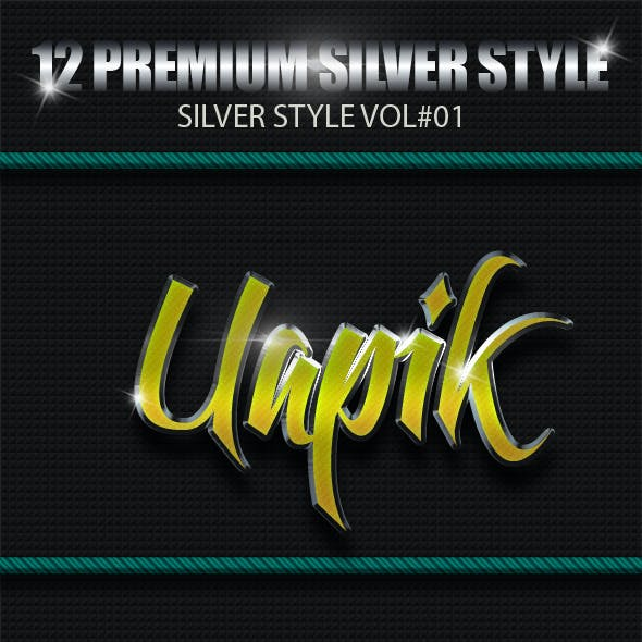 12 Premium Silver Styles Vol 1
