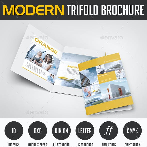 Modern Image Trifold Brochure