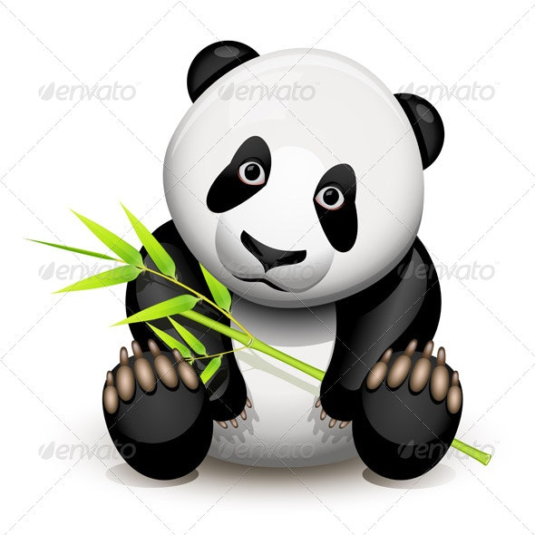 Little panda - Animals Characters