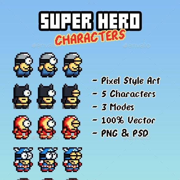 Super Hero Game Characters