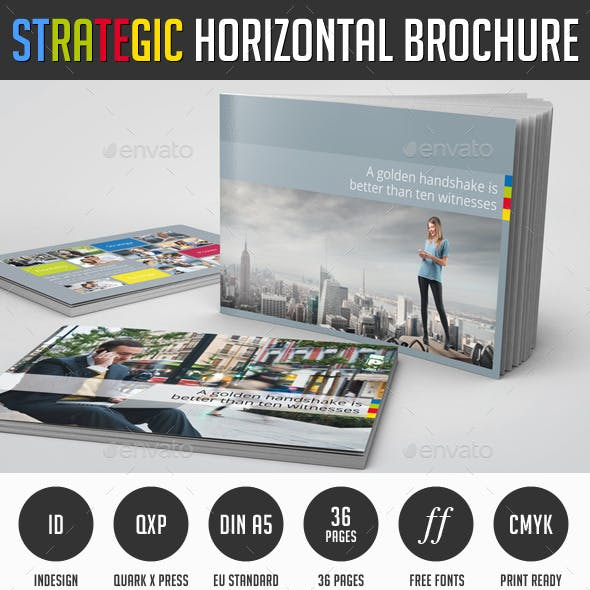 Strategic Horizontal Brochure