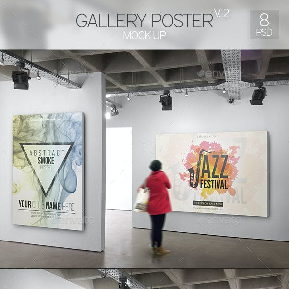 Gallery Poster Mock-Up 2