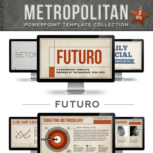 The Metropolitan Powerpoint Template Collection