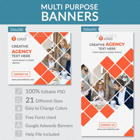 Multi Purpose Banners