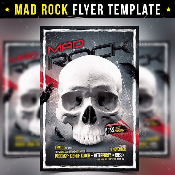 Mad Rock Flyer