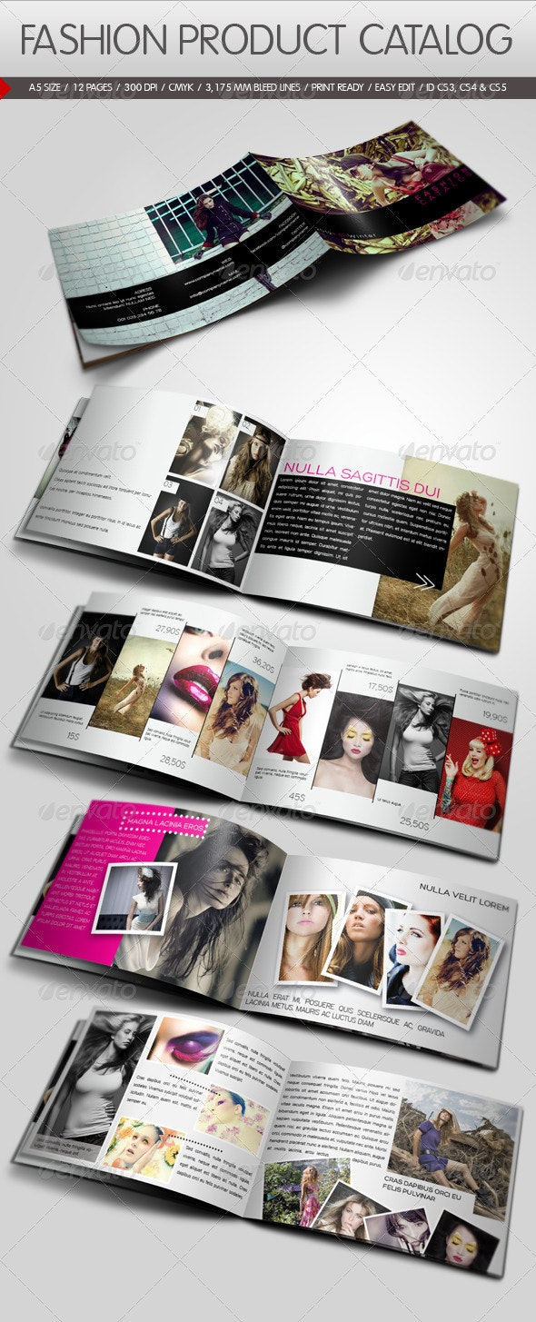 Fashion Product Catalog - Catalogs Brochures