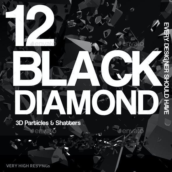 Black Diamond Particles