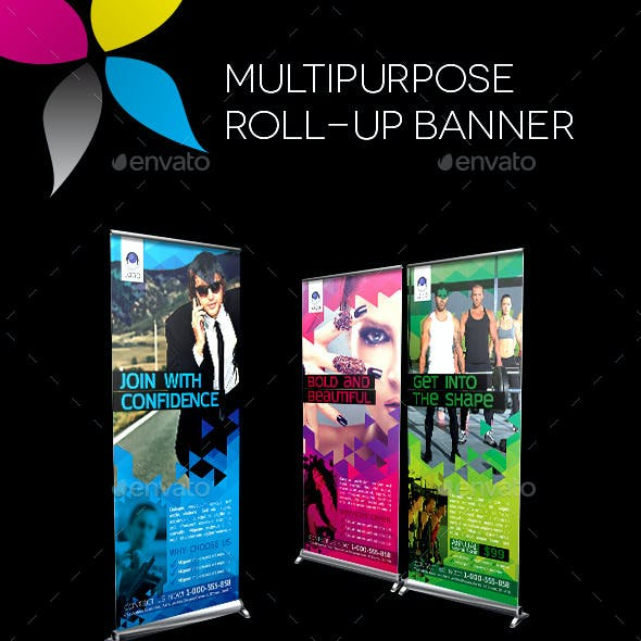 Multipurpose Roll-up Banner