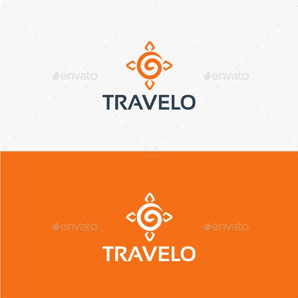 Travelo - Logo Template