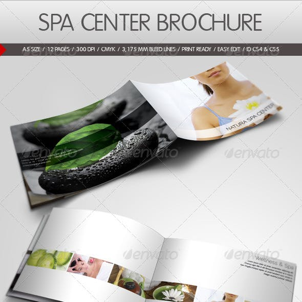 Spa Center Brochure Template